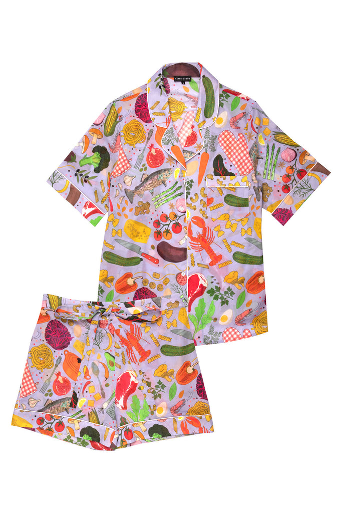 Chef's Table Short Pyjama Set