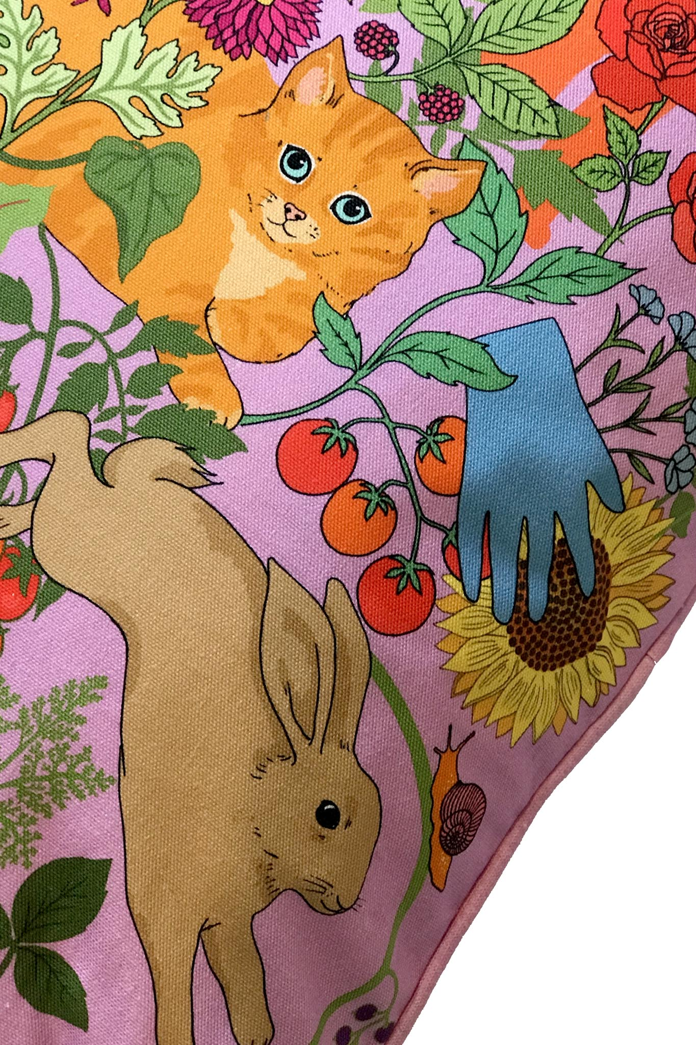 Garden of Earthly Delights Cushion - Large