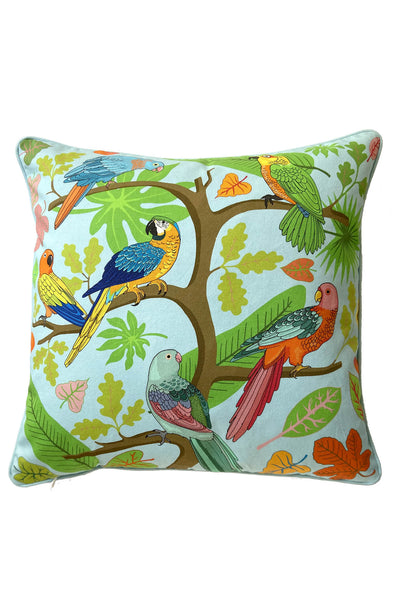 Parrot Cotton Cushion Cover | Small