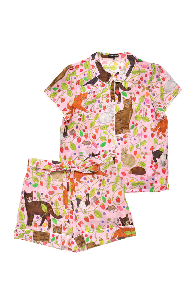 Strawberry Fields Forever Short Pyjama Set