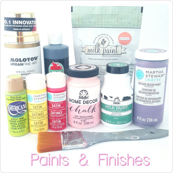 Paints & Finishes