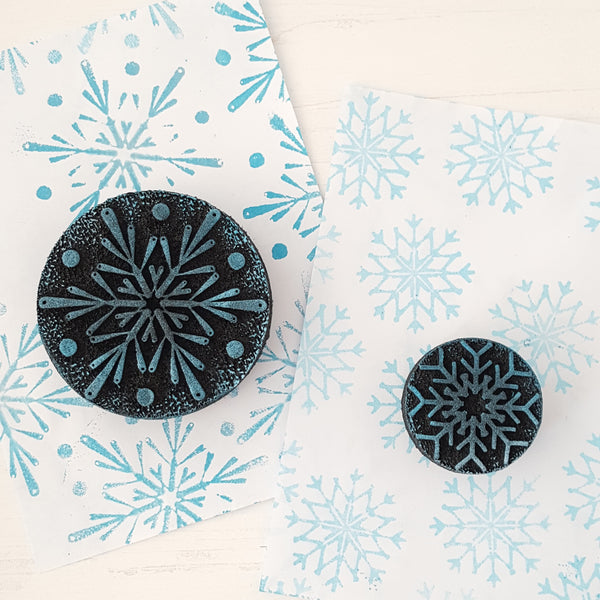 Snowflakes  Foampressions  foamstamp