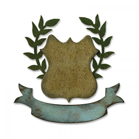 Sizzix -Tim Holtz Alterations Dies - Regal Crest