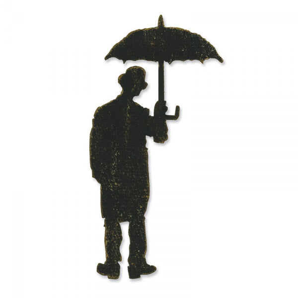 Sizzix -Tim Holtz Alterations Dies - Umbrella Man