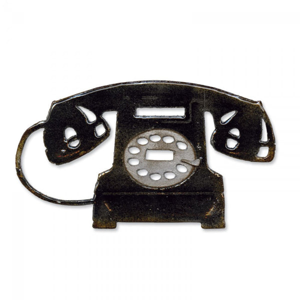 Sizzix -Tim Holtz Alterations Dies - Vintage Telephone