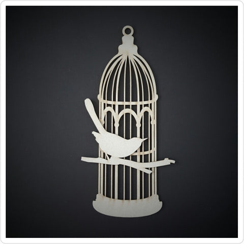 Big Bird Cage Chipboard embellishments