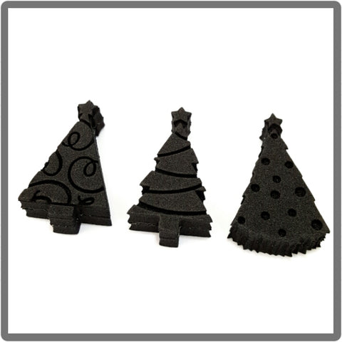Christmas Trees Foampressions  foamstamp