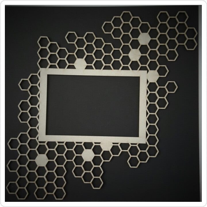 Honey Comb Chipboard Frame