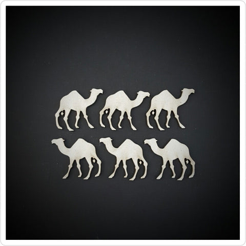 Tiny Camels Chipboard embellishments