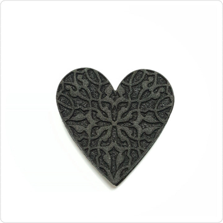 Scroll Heart Foam Stamp