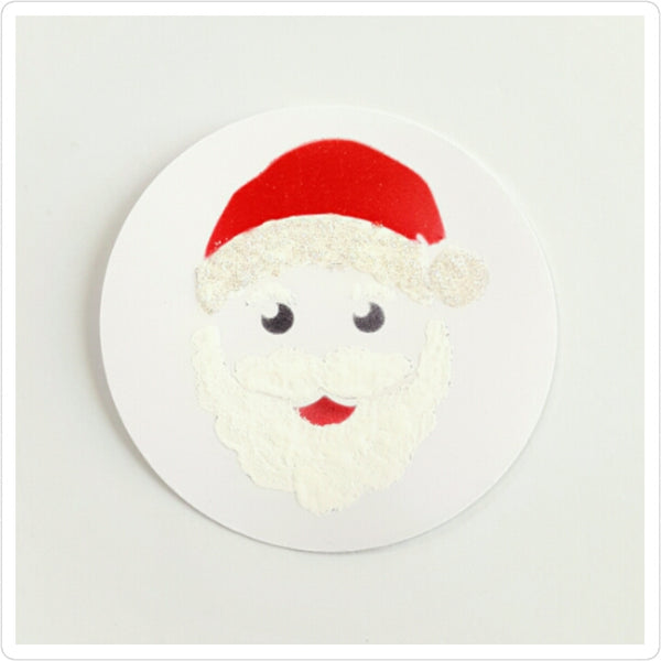 Santa Layered Cookie Stencil