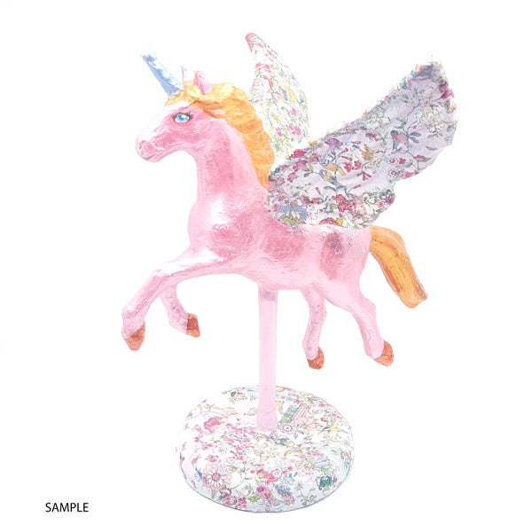 Papermache Winged Unicorn