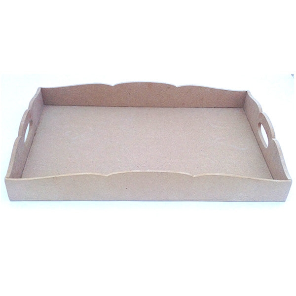 MDF Large Rectangle Tray