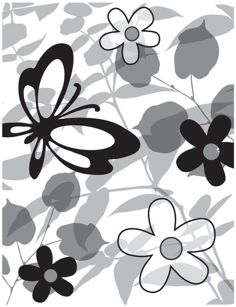 Lauderdale Floral Cling Rubber Stamp