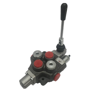 "Hydra Part 160L 1 Bank Monoblock Valve 3/4"" BSP Double Acting Spring Return - Approved Hydraulics"