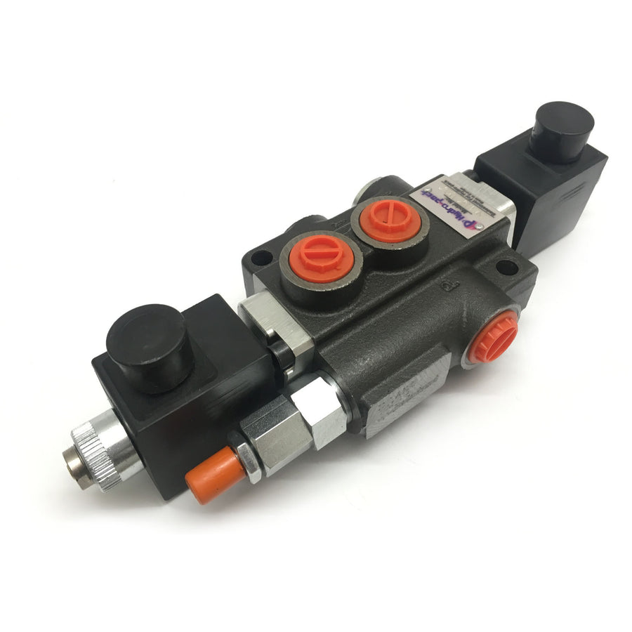 "Hydra Part Z80 1/2"" Solenoid Control Valves 80LPM 12/24VDC - Approved Hydraulics"