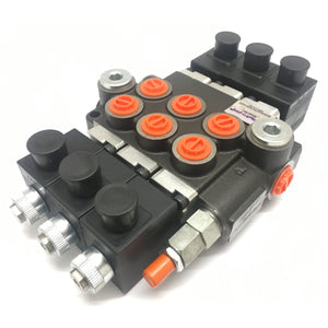 "Hydra Part Z50 3/8"" Solenoid Control Valves 50LPM 12/24VDC - Approved Hydraulics"