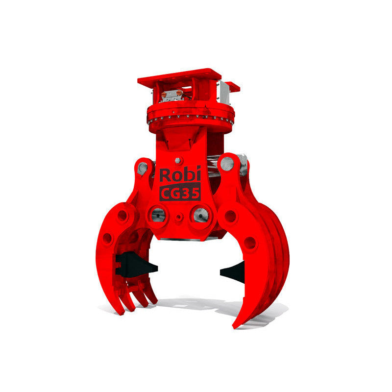 Robi CG50r Crusher Grapple - Approved Hydraulics