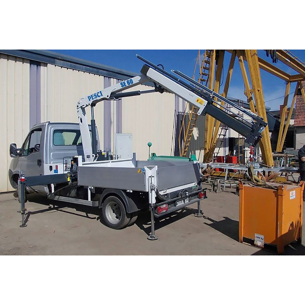 PESCI SE 60 Knuckle Boom Cranes - Approved Hydraulics