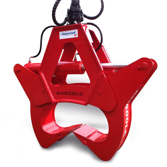 Approved Hydraulics AH800LC Log Cracker (Cranes) - Approved Hydraulics