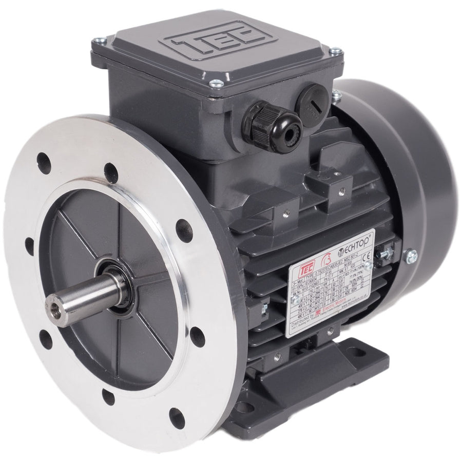 TEC TEC 3 Phase Electric Motors - 4 Pole, 1500rpm (IE2 High Efficiency) - Approved Hydraulics