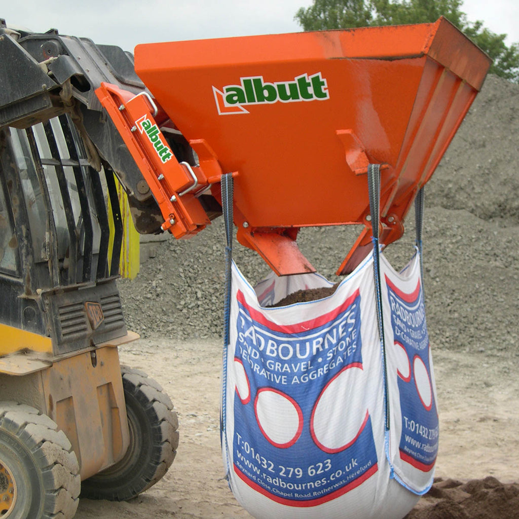 Albutt Bag Filling Buckets - Approved Hydraulics