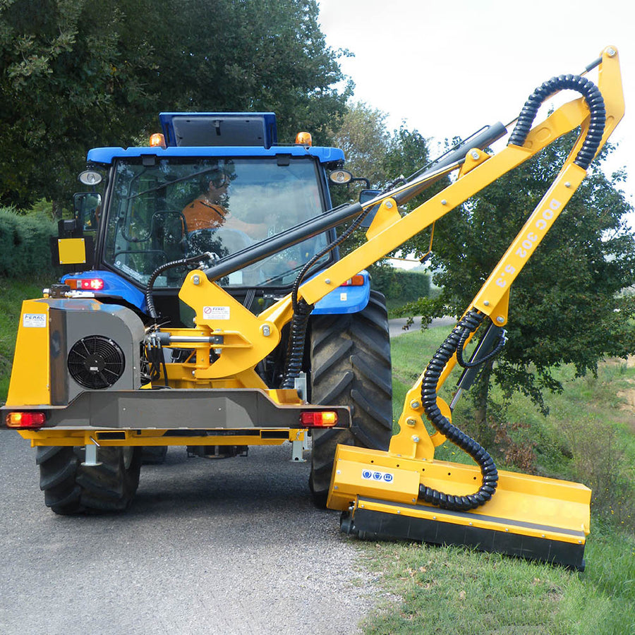 Femac DOC 302 Side Arm Flail (3.5-4.5T Tractors) - Approved Hydraulics