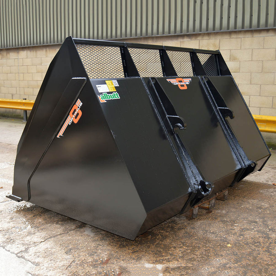 Albutt Wood Waste Bucket - Approved Hydraulics