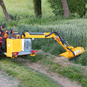 Femac DOC 101 Side Arm Flail (1-2.5T Tractors) - Approved Hydraulics