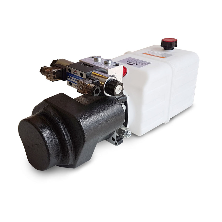 Hydra Part Double Acting Power Pack (Single Solenoid) - Approved Hydraulics