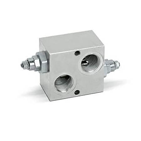 "Hydra Part 1/2"" BSP Dual Cross 35 LPM R/V Flangeable On Motors OMP/OMR - Approved Hydraulics"
