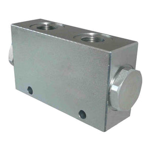 "Hydra Part FLOW DIVIDER/COMBINER 0 In line 3/8"" BSP in/out 13-23 lpm - Approved Hydraulics"