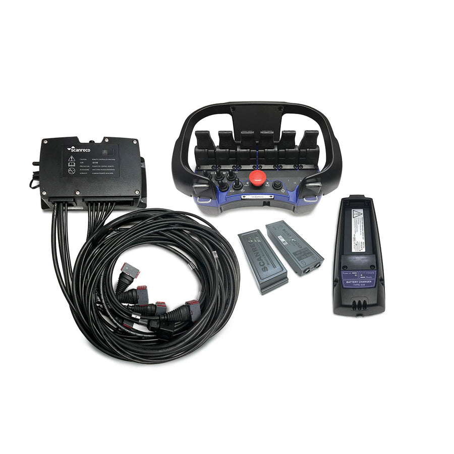 RC400 6 Function Radio Remote Control (G2B) - Approved Hydraulics Ltd