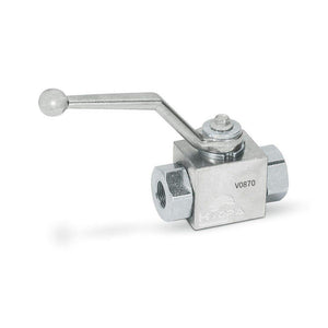 Hydra Part 2 Way High Pressure Ball Valves - Approved Hydraulics