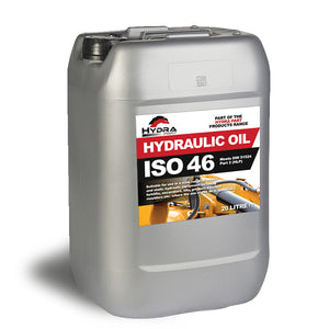 Hydra Part Hydraulic Oil ISO 46, 20 Litres - Approved Hydraulics