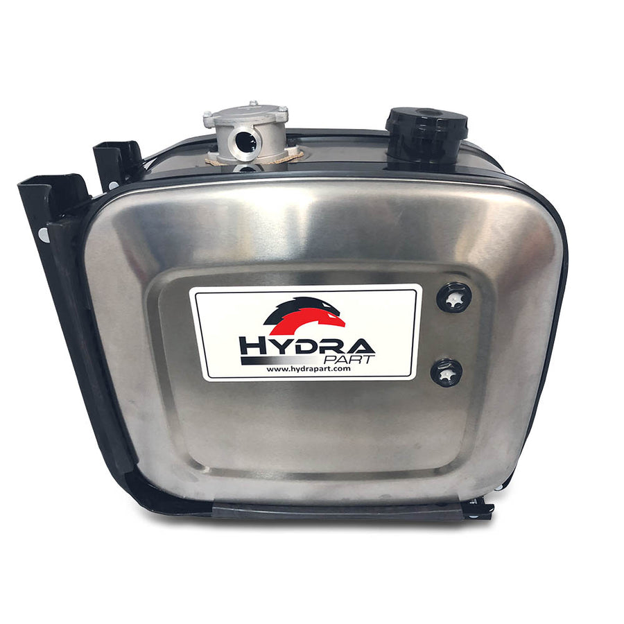 Hydra Part Side Mounted Aluminium Oil Tanks With Filter (100 Litre) - Approved Hydraulics