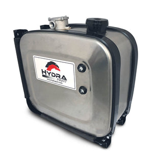 Side Mounted Aluminium Oil Tanks With Filter (100 Litre)