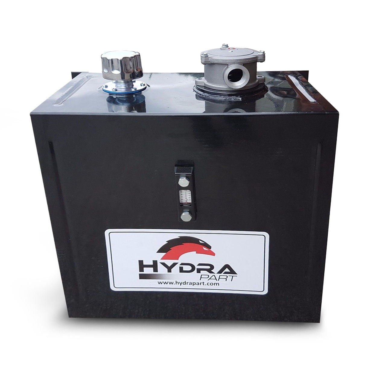 Side Mounted Steel Hydraulic Oil Tanks With Filter 15l 80l Fuel Tank