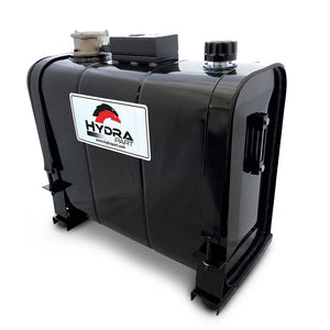 Hydra Part Rear Mounted Steel Oil Tanks With Filter & Tipper Valve Plate (70L-200L) - Approved Hydraulics