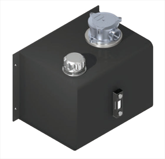 Hydra Part Side Mounted Steel Hydraulic Oil Tanks With Filter (15L-80L) - Approved Hydraulics