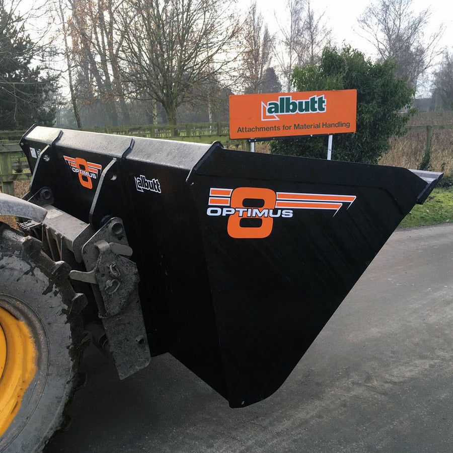 Albutt Optimus 8 Heavy Duty Buckets - Approved Hydraulics