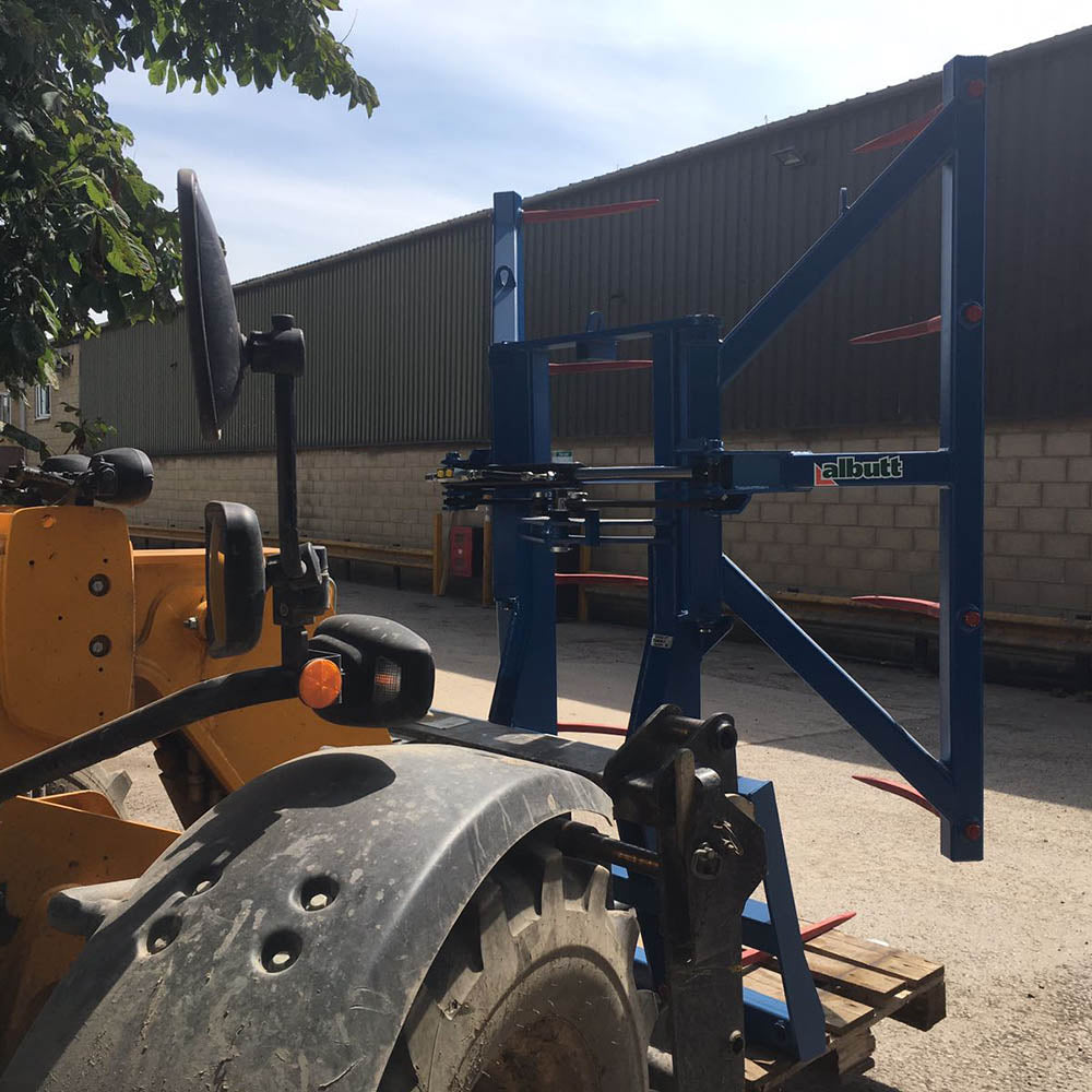 Albutt Bale Stacker - Approved Hydraulics