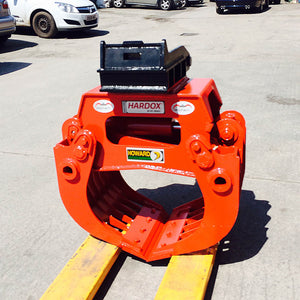 Minelli MBD Demolition Selector Grabs - Approved Hydraulics