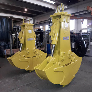 Minelli MBV (FS) Clamshell Buckets - Approved Hydraulics