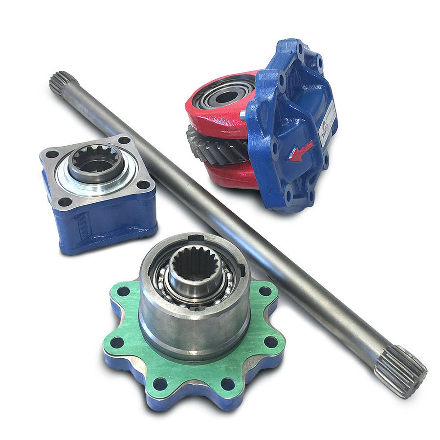 Hydra Part Scania GRS905R Side to Rear PTO Kit (HP-PT277AC2F) - Approved Hydraulics