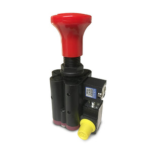 Mead PTO Switch - Panel/Dash Mounted Air Control Valve (Electrical Release) - Approved Hydraulics