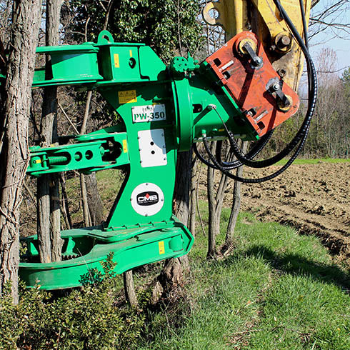 CMB PW Series Tree Shears - Approved Hydraulics