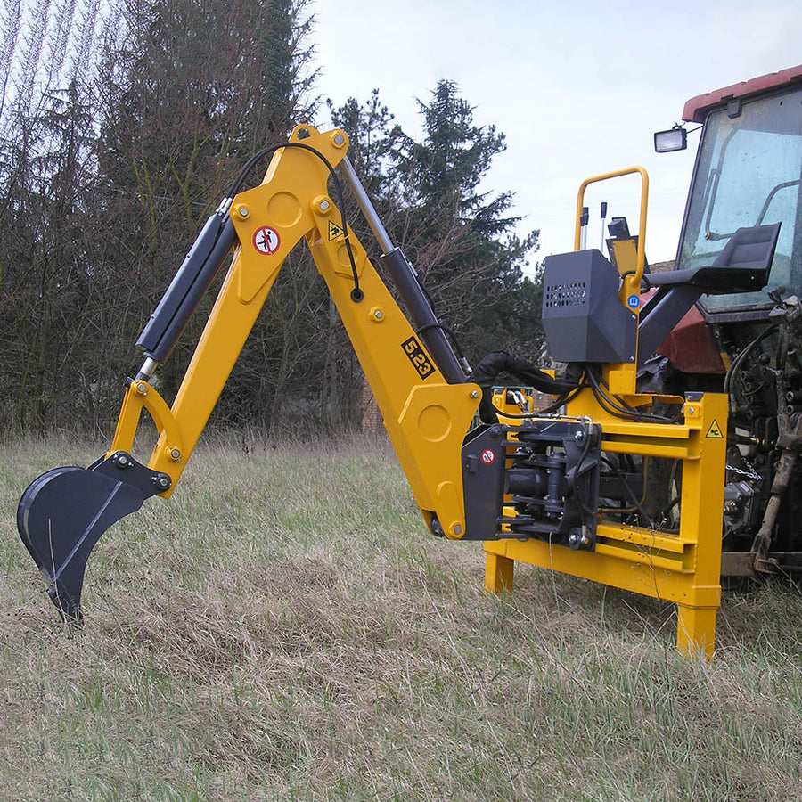 Femac Series 5 Backhoe - Approved Hydraulics