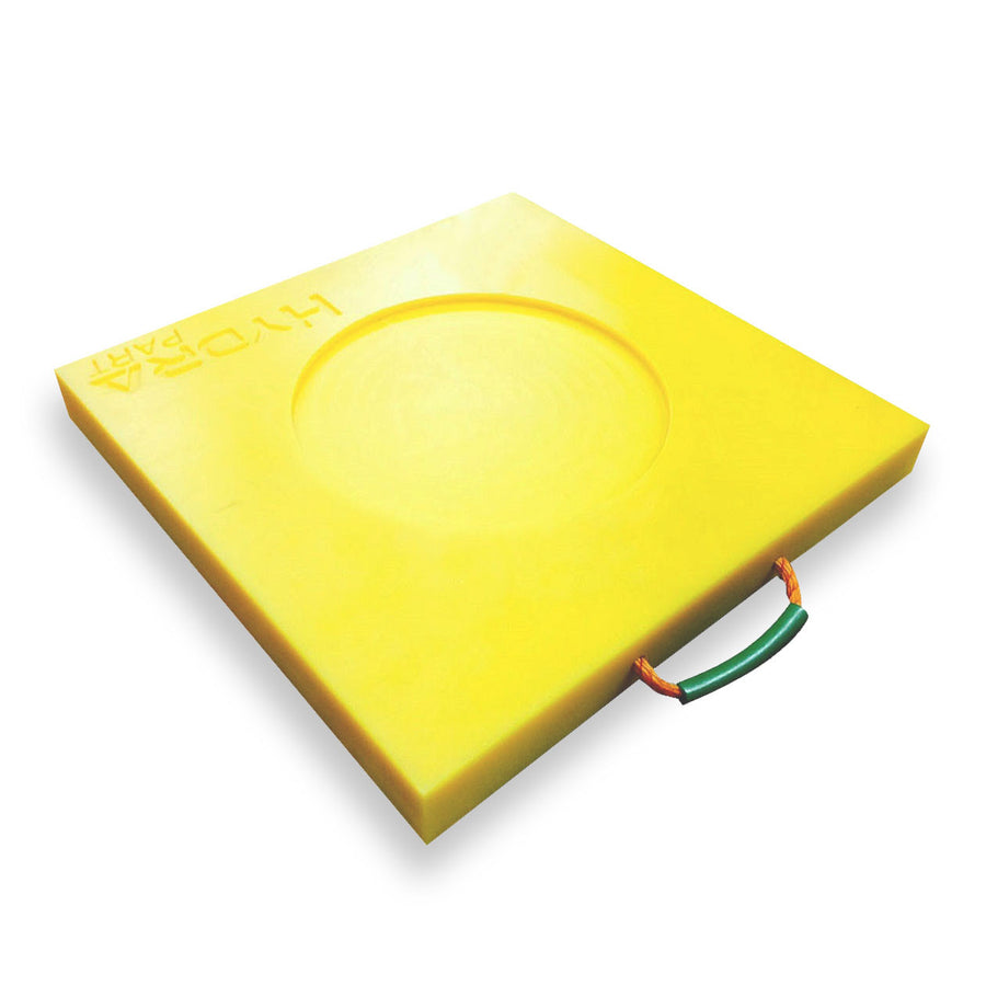 Hydra Part High Visibility Stabiliser Pads - Approved Hydraulics