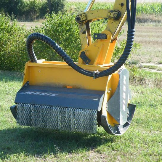 Femac TE 100P REV Flail Mower - Approved Hydraulics
